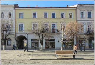 Photo: Cluj-Napoca - Piata Unirii, Nr.13 - monument istoric, din sc XVI - XIX - accesul la Str. Episcop Ioan Bob -  2018.01.31
