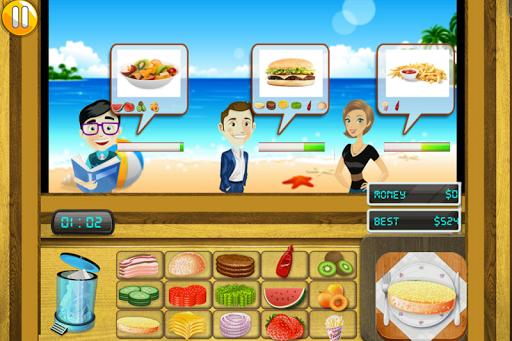 Chef Cooking Game - Beach Dash