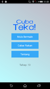 CubaTeka! Hangman in Malay- screenshot thumbnail