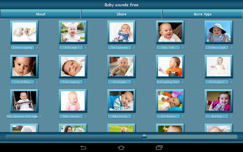 Baby Sounds Free- screenshot thumbnail