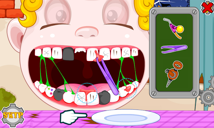 Dentist crazy day screenshot