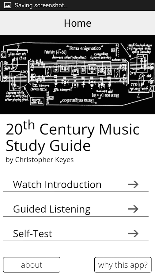 20th Century Music Study Guide- screenshot