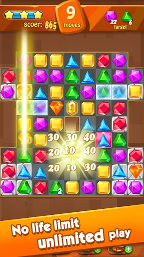 Jewels Classic - Jewel Crush Legend 2.9.6 screenshots 2