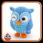 Amigurumi. Knitted toys.