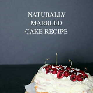 Naturally Marbled Cake Recipe - Shrimp Salad Circus