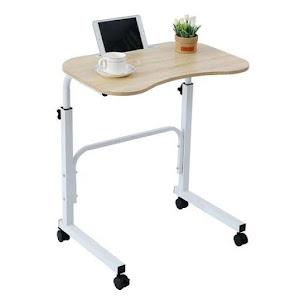 Mini birou portabil Slide Table, 60 x 40 cm, inaltime reglabila pana la 84 cm
