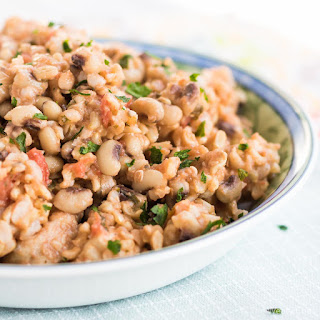 One Pot Black Eyed Peas and Rice with Chicken.