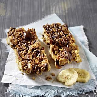 Chocolate and Banana Granola Bars.