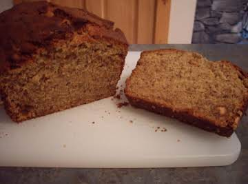 Ciao Bella Peanut Butter Banana Bread