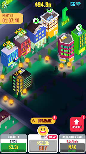 Idle Light City apktram screenshots 4