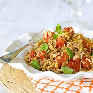 Turkey and Rice With Veggies