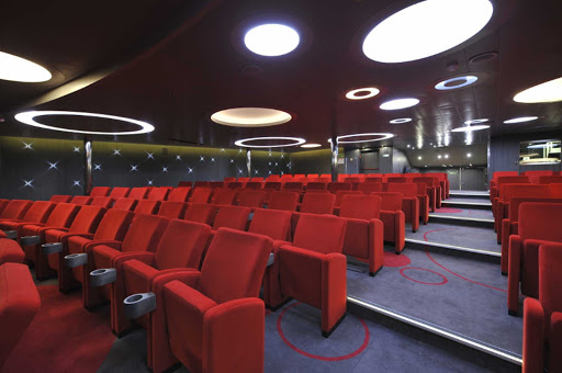 Ponant-LeBoreal-Theater.jpg - The Theater on Le Boreal features informational sessions as well as music.