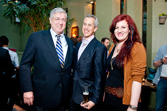 Photo: Tim Zagat, Danny Meyer, Alexandra Ray