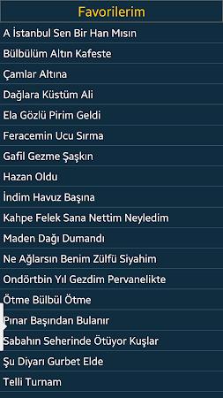 Türkü Sözler ve Notaları 1.30 screenshot 2092186