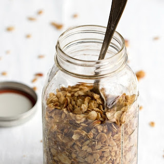 Honey Almond Coconut Oil Granola