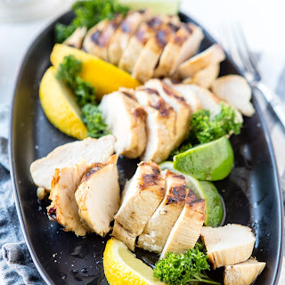 Marinated Diet Coke® Chicken with Lemon and Limes.