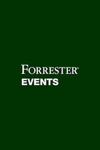 Forrester Events Mobile App- screenshot thumbnail