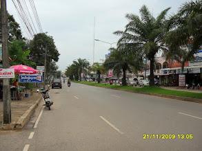 Photo: Die Hauptstrasse nach Krabi Town