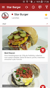 Star Burger screenshot 1
