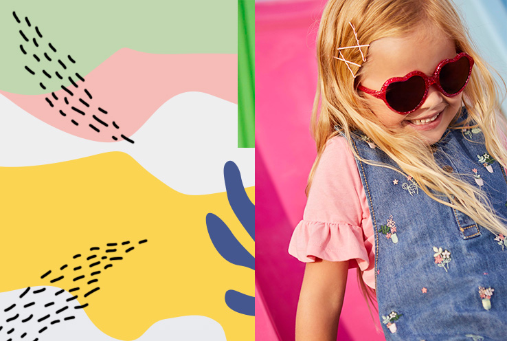 Discover our range of kids' summer clothes