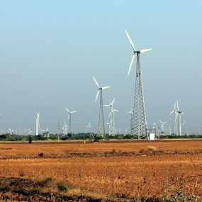 Windmill by Karthic Kumar - Backgrounds Industrial