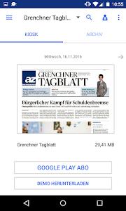 az Grenchner Tagblatt E-Paper screenshot 0