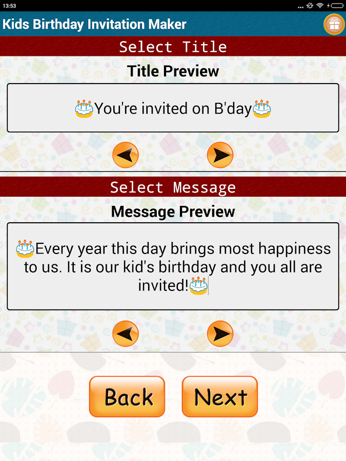 birthday invitation maker birthday invitation maker android apps on play 12395