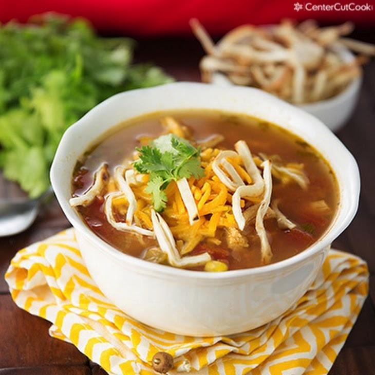 Slow Cooker Chicken Tortilla Soup Rezept | Yummly