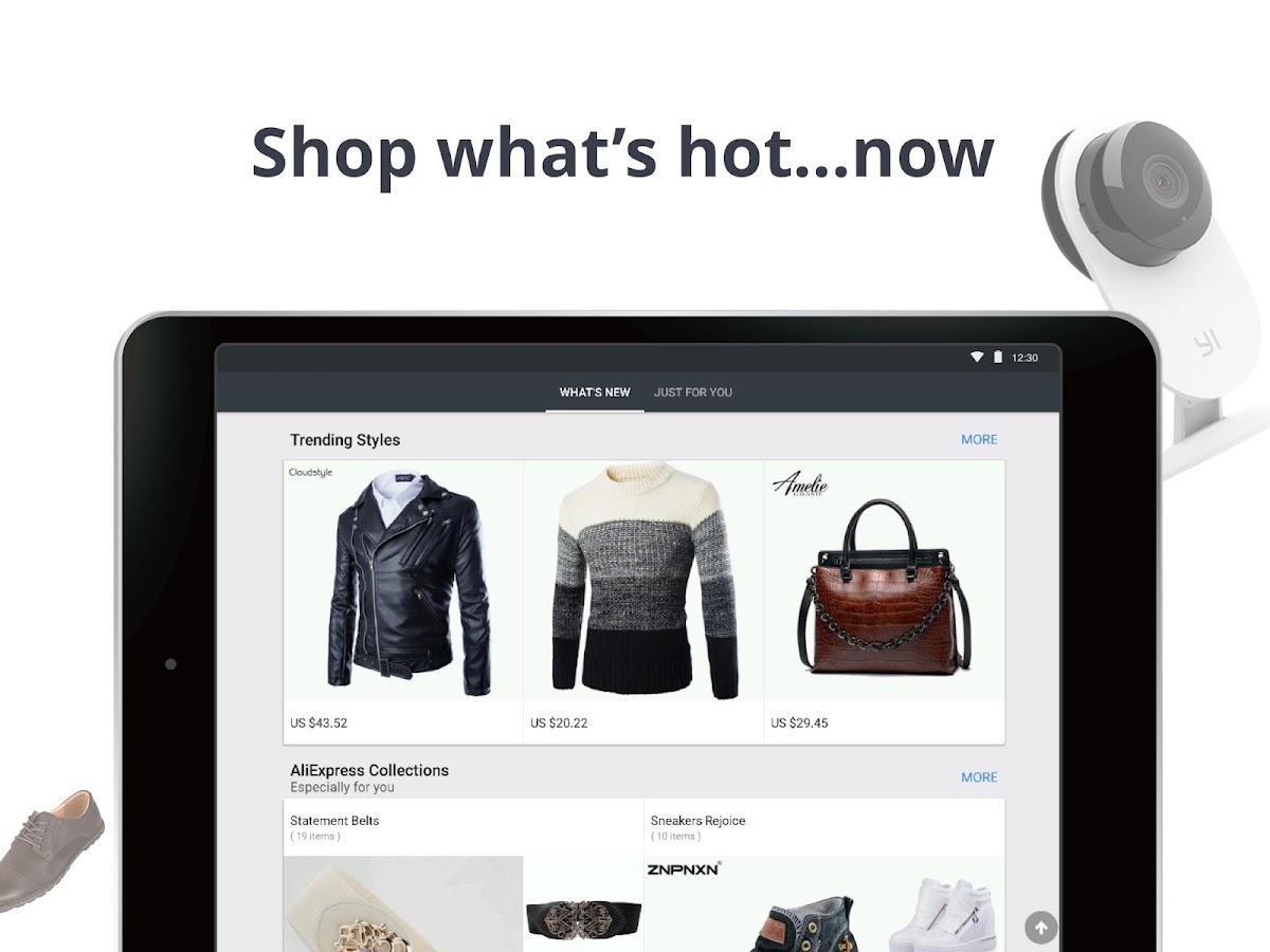 AliExpress Shopping App- $100 Coupons For New User- screenshot