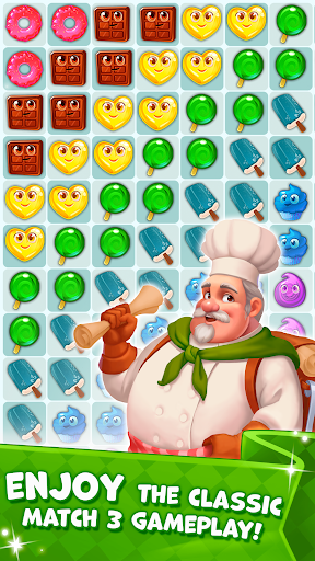 Candy Valley - Match 3 Puzzle apkpoly screenshots 4