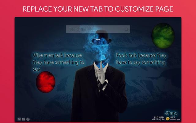 Anonymous Hacker Wallpaper Hd Custom New Tab