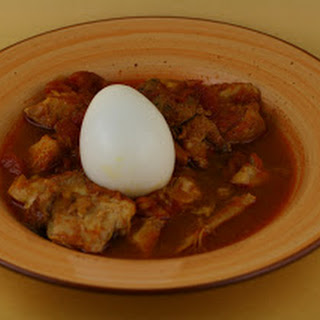 Ethiopian Chicken Stew (Doro Wat) Slow Cooker.