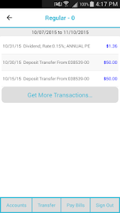 NHFCU Mobile Banking screenshot 2