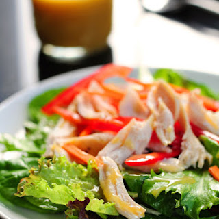 Simple Honey Mustard Salad Dressing.