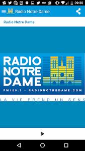 Radio Notre Dame - 100.7 FM screenshot 0