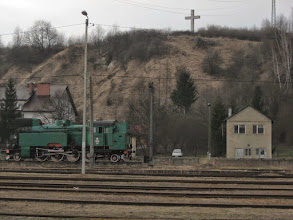 Photo: Okolice stacji kolejowej w Zagórzu.