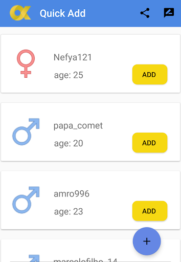 QuickAdd , New Friends For SnapChat hack tool