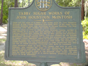 Photo: McIntosh tabby sugar works.  Historic plantation just across the Florida border into Georgia.   Not too far from the Crooked River (just north of Mayport area).