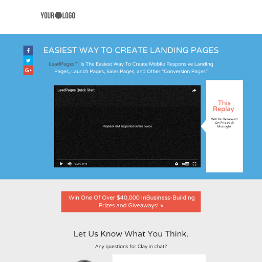 sales pages templates