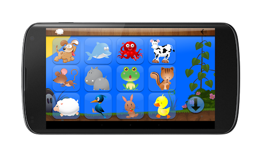 Kids Shape Puzzle Animals- screenshot thumbnail