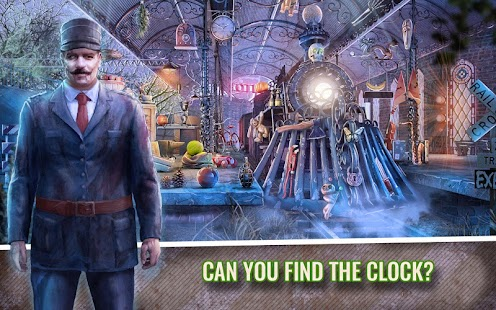 Train of Fear Hidden Object Mystery Case Game - náhled