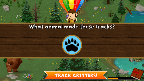 Monkey Preschool Animals- screenshot thumbnail