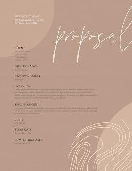 Modest Proposal - Proposal item