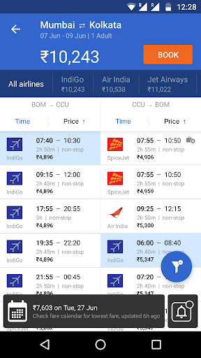 Cleartrip - Flights, Hotels, Activities, Trains  screenshots 4