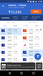 Cleartrip - Flights, Hotels, Activities, Trains APK screenshot thumbnail 4