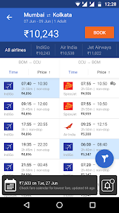 Cleartrip - Flights, Hotels, Activities, Trains Screenshot