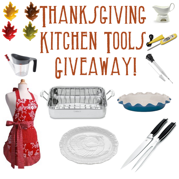Thanksgiving Kitchen Tools Giveaway