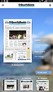 Il Quotidiano del Sud- screenshot thumbnail