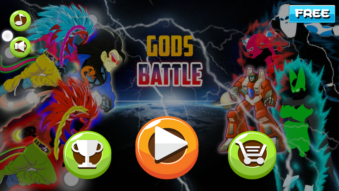 Battle of Gods Fighter- screenshot