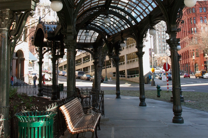 Pioneer Square Shops & Restaurants in Seattle